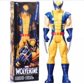 Figure Action Boneco Wolverine Marvel Hasbro 30cm X - Men