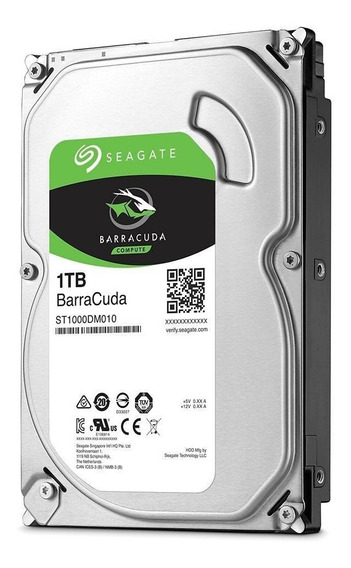 Hd Desktop Pc 1tb Seagate Barracuda Interno 3.5
