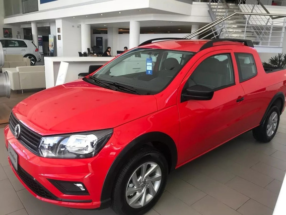 0km Volkswagen Saveiro 1.6 Gp Cd 101cv Pack High 2019 Alra 1