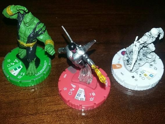 Heroclix Hulk, Spiderman, Mach Iv Chase