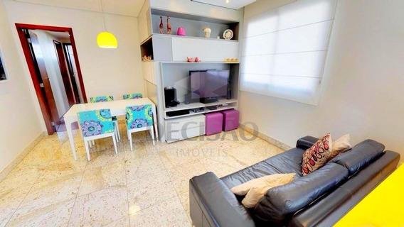 Apartamento 3 Quartos À Venda, 3 Quartos, 2 Vagas, Anchieta - Belo Horizonte/mg - 16384