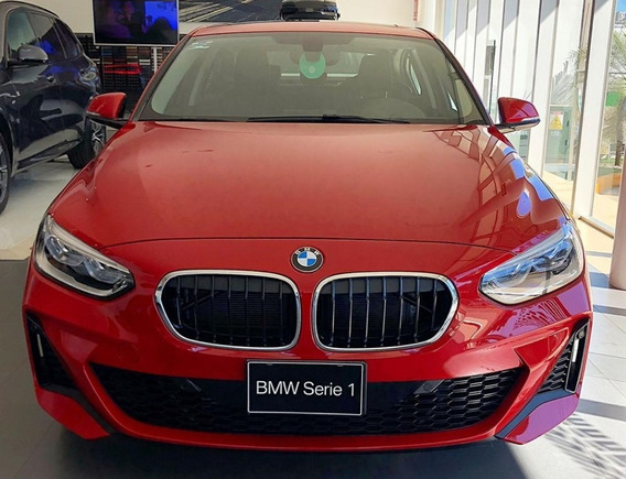 Bmw Serie 1 120 Sedán M Sport 2020, Color Melbourne Red