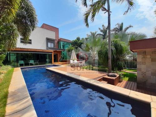 Imagem 1 de 30 de Sobrado Com 3 Dormitórios À Venda, 450 M² Por R$ 3.500.000,00 - Condomínio Guaporé - Ribeirão Preto/sp - So0489