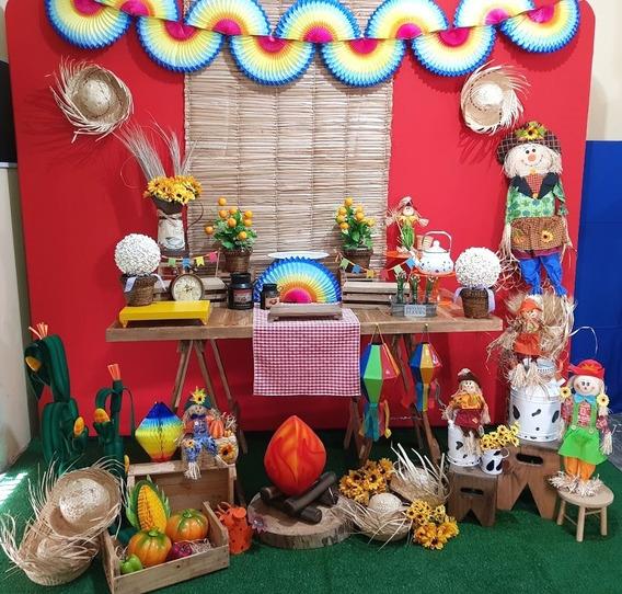 Decoração Festa Junina Caipira Locação Sp