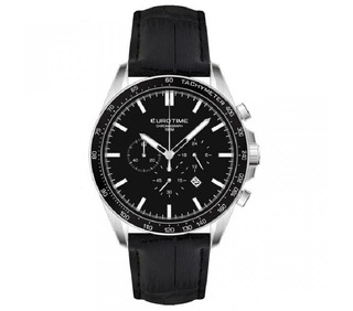 Reloj Eurotime Caballero Crono Sumergible Caja Acero