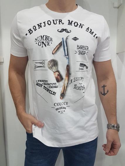 Camiseta Masculina Colcci Original Estampada