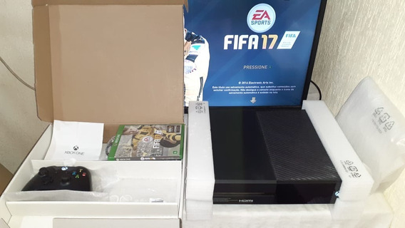 Xbox One Modelo Fosco! 500gb + Fonte Original + Garantia !