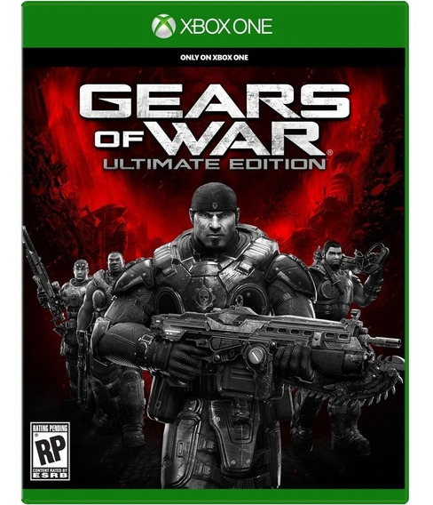 Gears Of War Ultimate Edition Xbox One Disco Fisico Original
