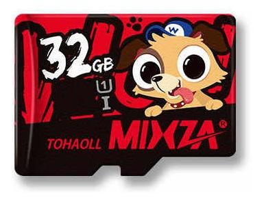 Cartão De Memória 32gb Classe 10 Uhs-1 Mixza