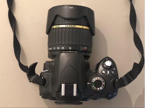 Nikon D60 Com Lente Tamron 200 Mm