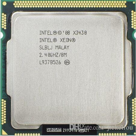 Intel Xeon X3430 8 M Cache Quad Core 2.40 Ghz 95 W Lga1156