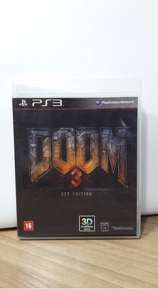 Doom 3 Bfg Edition Ps3 Usado