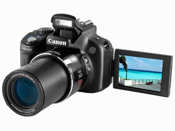 Câmera Cannon Powershot Sx50 Hs