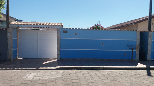 (ref:4596) Casa 3 Dorm.- Itanhaém/sp - Nossa Senhora Do Sion