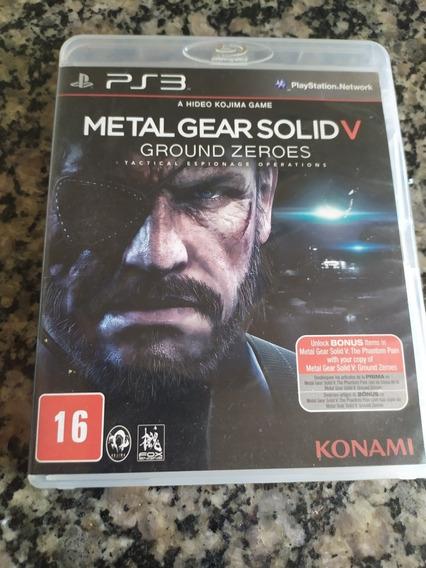 Jogo Ps3 - Metal Gear Solid 5 - Mídia Fisica