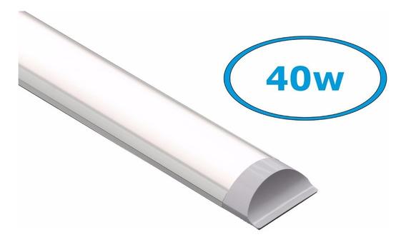 Kit 5 Led Linear Slim 1,20m 6000k Branco Frio Bivolt 40w