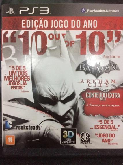 Batman Arkham City (mídia Física)