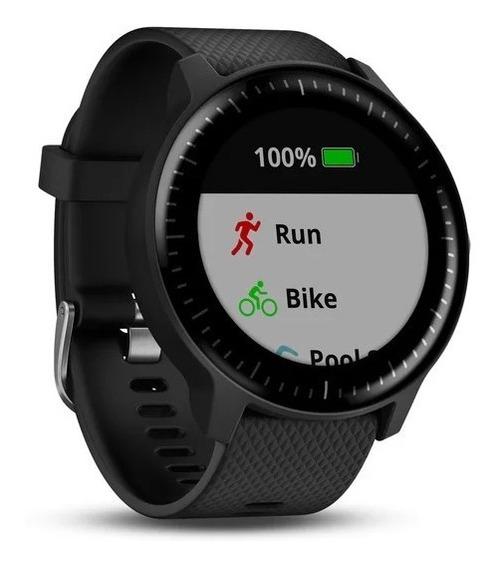 Relógio Garmin Smartwatch Vívoactive 3 Preto Silicone A11883