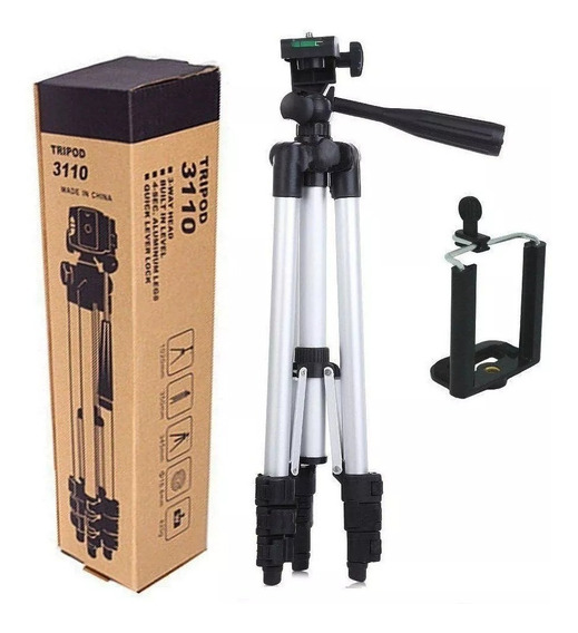 Tripé Universal Telescópico Para Câmera E Celular 1,02 M 3110