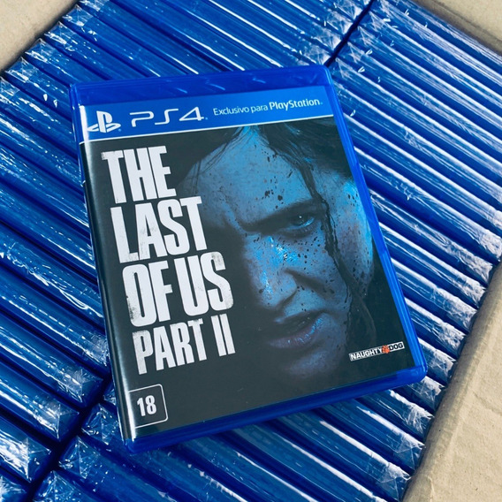 The Last Of Us 2 Parte 2 Parte Ii Tlou Ps4 Pronta Entrega