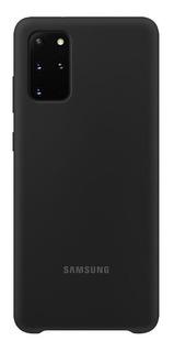 Capa Protetora Silicone Preta Samsung Galaxy S20 Plus