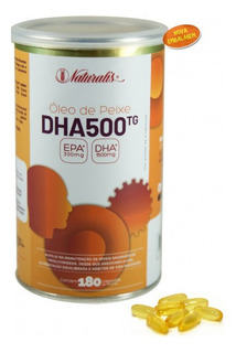 Omega Dha 500 1000 Mg. 180 Caps.naturalis