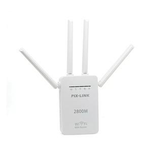 Repetidor Wifi 4 Antenas Pixlink Amplificador De Sinal