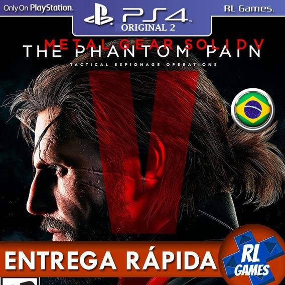 Jogo Metalguear Phantom Pain Midia Fisica