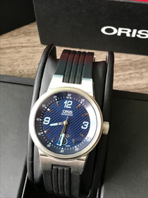 Reloj Oris F1 Williams Day Date Automatico Caratula Azul