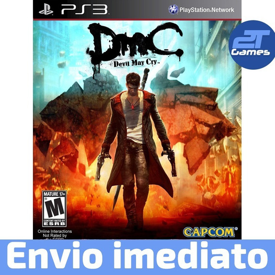 Dmc Devil May Cry Ps3 Psn Jogo A Pronta Entrega