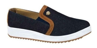 Tenis Casual Urban Shoes 3640 Tipo Mezclilla 163900