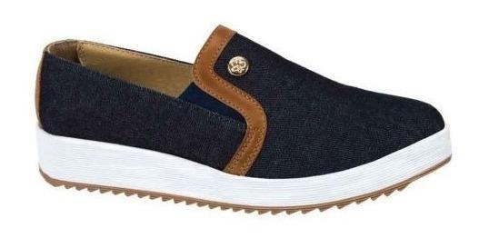 Tenis Casual Urban Shoes 3640 Tipo Mezclilla 163900