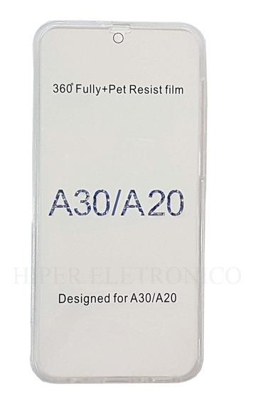Capa Case Capinha 360 Samsung Galaxy A20 A30 Frente E Verso