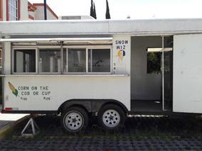 Remolque Para Venta De Alimentos , Comida Rapida Food Truck.