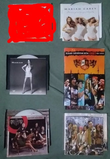 Mariah Carey & Rbd Cds E 1 Dvd Pop Rebelde
