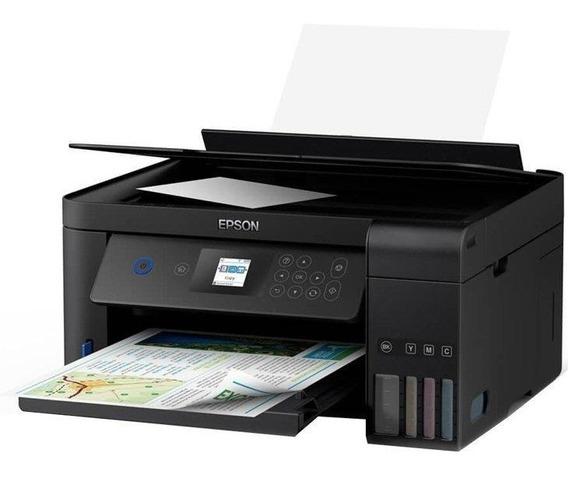 Impressora Multifuncional Epson Eco Tank L4160, Wi-fi Direct