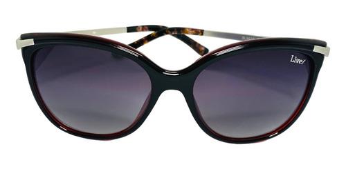 Óculos De Sol Verão Vermelho Pol., Com Proteção Uv400