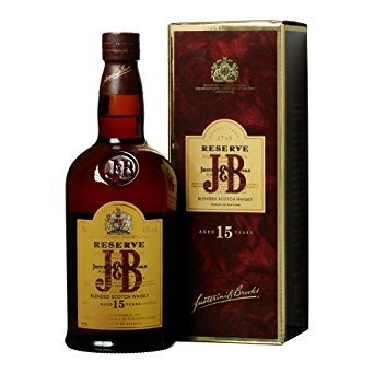 Whisky J&b Reserve 15 Años 750ml En Estuche