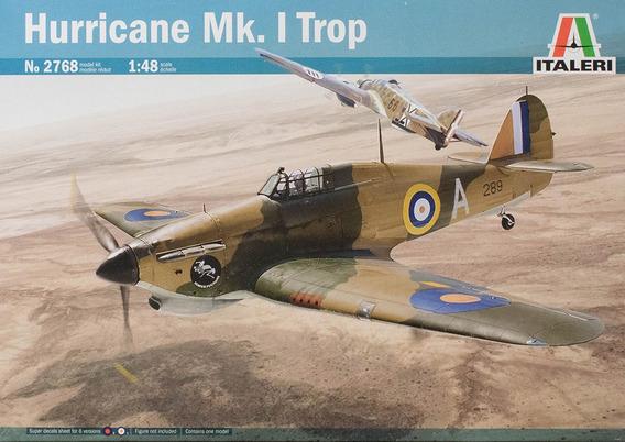 Miniatura Avião Hurricane Mki Trop 1/48 Kit Italeri P Montar