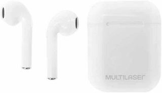 Fone Tws Airbuds Bluetooth 5.0 Multilaser Branco - Ph326