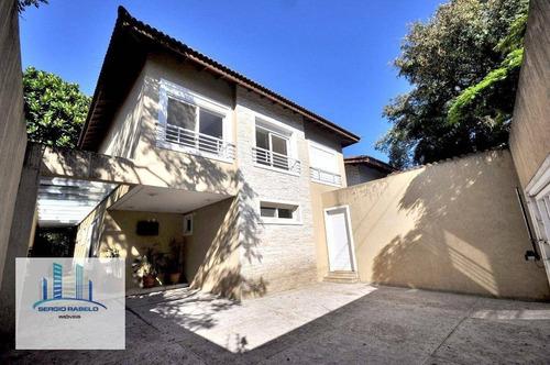 Imagem 1 de 30 de Sobrado Com 4 Dormitórios Para Alugar, 297 M² Por R$ 15.500,00/mês - Alto De Pinheiros - São Paulo/sp - So0113