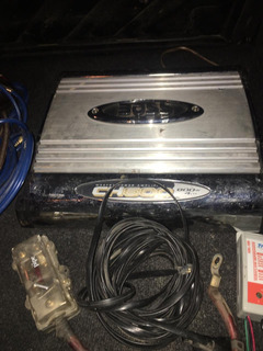 Potencia 800w + Cajón 12p+ Kit Cables