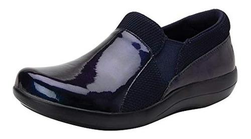 Zapato Profesional Alegria Duette Mujer True Blue 7 M Us