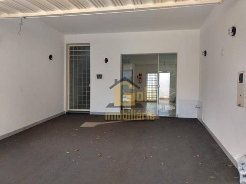 Salão Para Alugar, 38 M² Por R$ 1.500,00/mês - Campos Elíseos - Ribeirão Preto/sp - Sl0115
