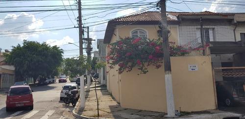 Sobrado À Venda, 3 Quartos, 1 Suíte, 1 Vaga, Tatuapé - São Paulo/sp - 1130