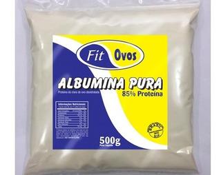 Albumina Integral 3kg (6 Und De 500g ) Pura