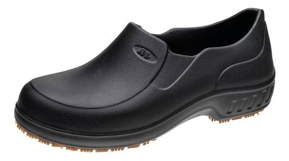 Sapato Ocupacional Impermeável Flex Clean Preto Marluvas
