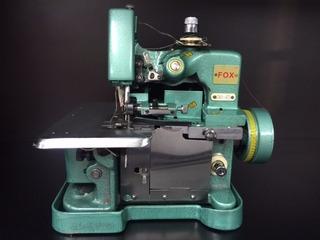Maquina De Costura Overlock Fox Gn1-6d Portátil +luminaria