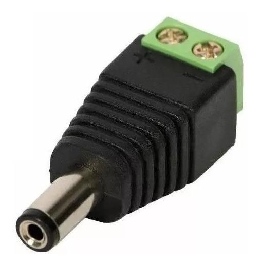 Conector P4 Macho Com Borne Para Cftv Frete Barato