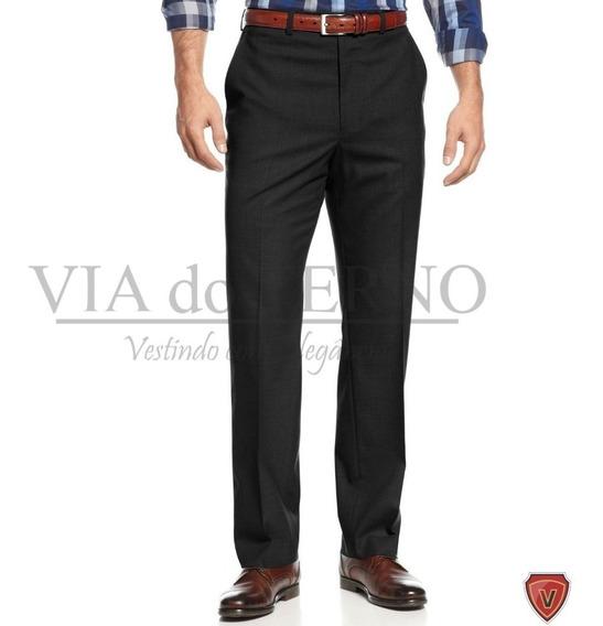 Calça Social Masculina + Sapato Social Via Do Terno + Camisa